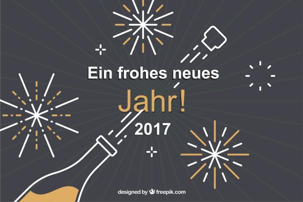 Ein frohes neues Jahr 2017